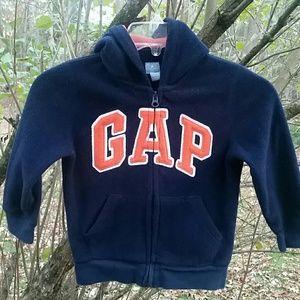 Gap Fleece Full-zip Hooded Sweatshirt
